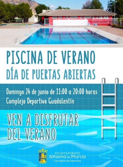 24 de junio: día de puertas abiertas en la piscina de verano, Foto 1