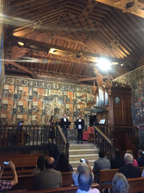 The Commonwealth of Sierra Espuña presents the poster of the third edition of ECOS, its festival of Ancient Music, to be held during the month of July in emblematic places of the participating municipalities, Foto 3