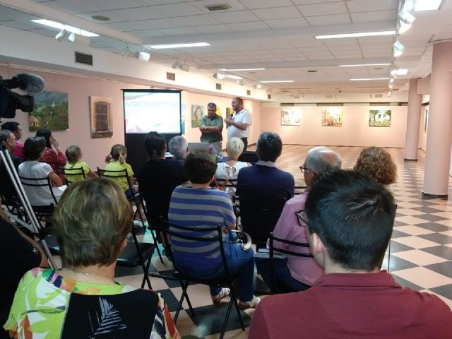 """The totanero agronomist researcher, Pedro Martínez Gómez, gives the conference """"Agriculture in Totana, a historical and future perspective"""", Foto 3"""