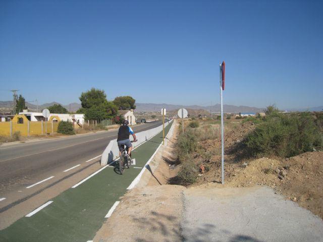 Turismo finaliza la senda que une la Vía Verde de Mazarrón con el casco urbano del municipio, Foto 1
