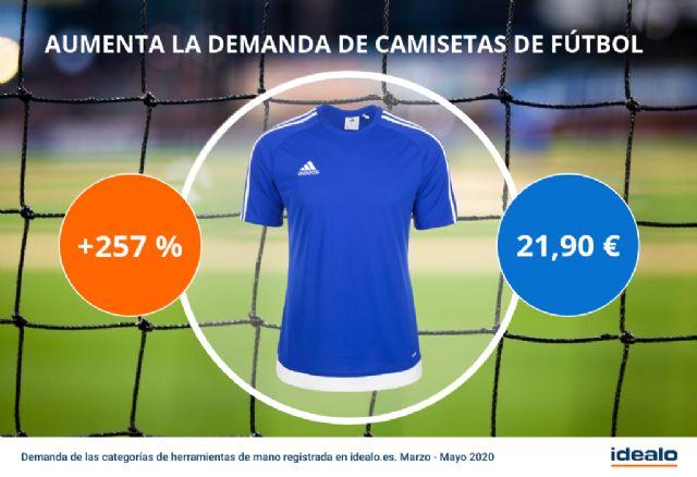 La demanda de camisetas de fútbol se dispara con la vuelta de La Liga - 1, Foto 1