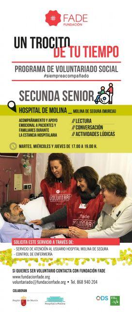 Hospital de Molina y Fundación FADE renuevan su colaboración para acompañar a pacientes ingresados - 1, Foto 1