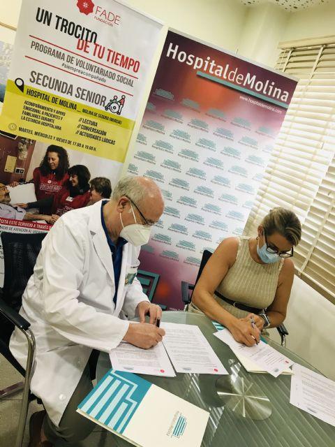 Hospital de Molina y Fundación FADE renuevan su colaboración para acompañar a pacientes ingresados - 3, Foto 3