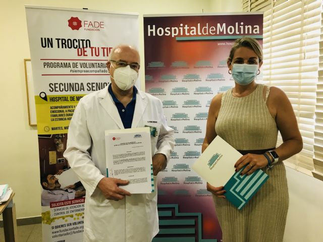 Hospital de Molina y Fundación FADE renuevan su colaboración para acompañar a pacientes ingresados - 4, Foto 4