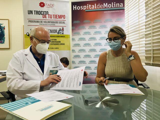 Hospital de Molina y Fundación FADE renuevan su colaboración para acompañar a pacientes ingresados - 5, Foto 5