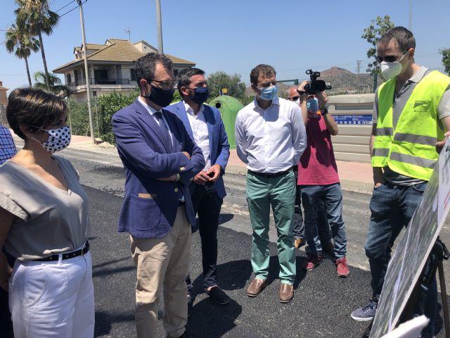 La Comunidad invierte más de 920.000 euros en reparar caminos rurales y mejorar las conexiones entre Murcia y Santomera - 1, Foto 1