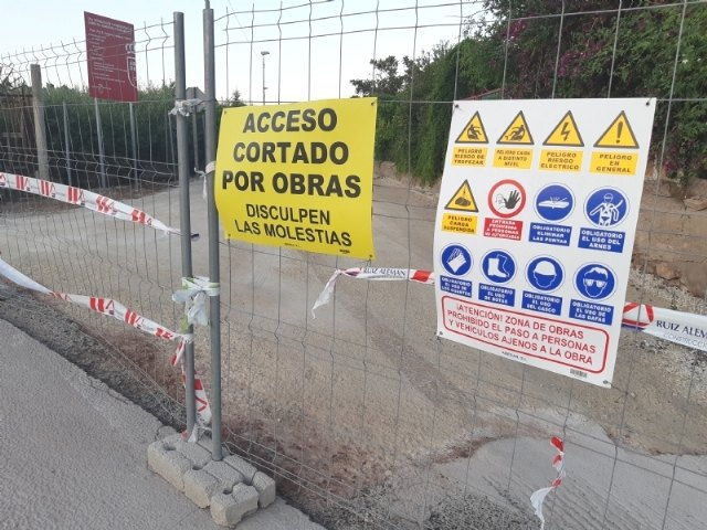 Las obras de rehabilitación del Camino del Cementerio se prolongarán durante varios días, obligando a cortar al tráfico de dicha infraestructura - 1, Foto 1