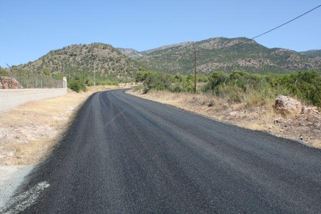 La carretera RM-503, que une Totana y Aledo, se prepara para recibir la Vuelta Ciclista a España mediante la reparación del firme en la zona de Las Alquerías - 3, Foto 3