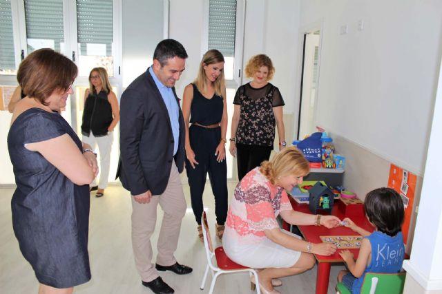 El Gobierno Regional renueva el convenio de colaboración para el Centro de Atención Temprana de Alcantarilla - 1, Foto 1