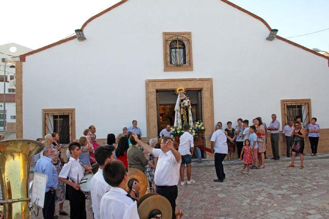 Los vecinos de Góñar celebran la festividad de la Virgen del Carmen - 1, Foto 1
