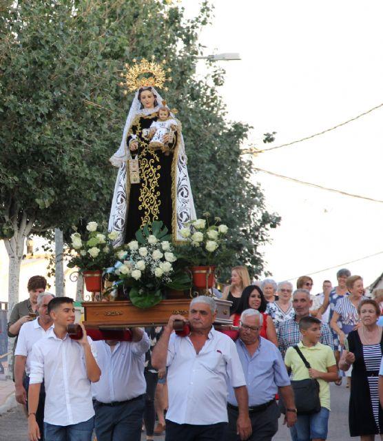 Los vecinos de Góñar celebran la festividad de la Virgen del Carmen - 2, Foto 2