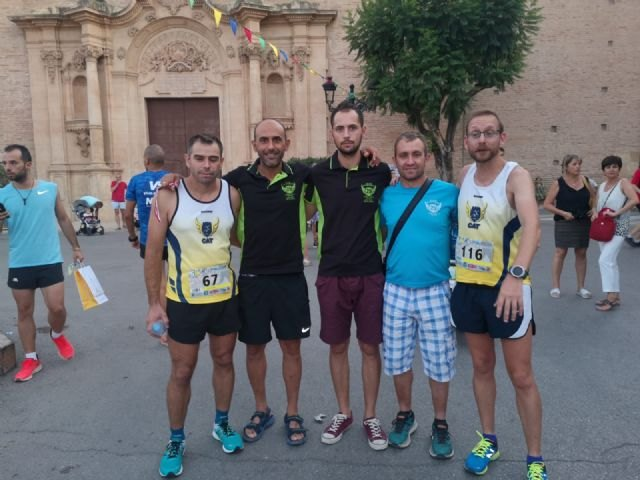 Athletes of the Totana Athletics Club participated in the Fiesta Race of Santiago and in the 10 km of Jumilla