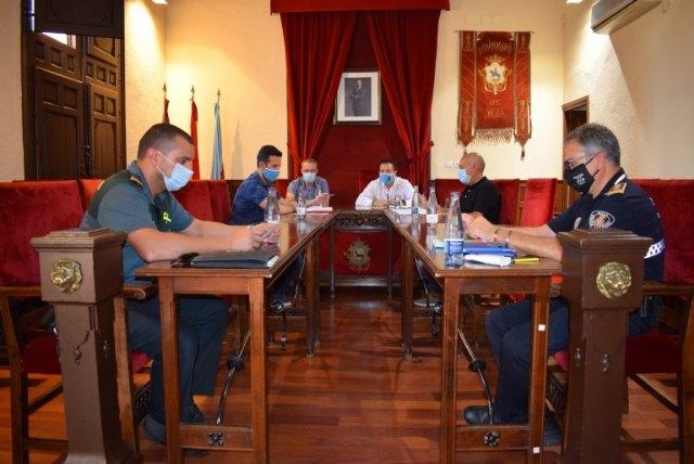 Reunión de la Mesa de Seguridad Local de Mula - 1, Foto 1