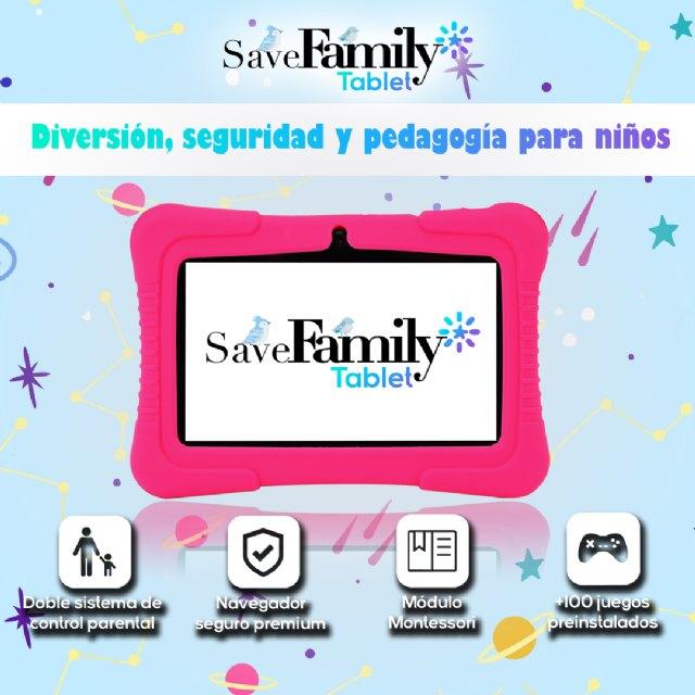 SaveFamily lanza la primera Tablet infantil con doble sistema de control parental - 1, Foto 1