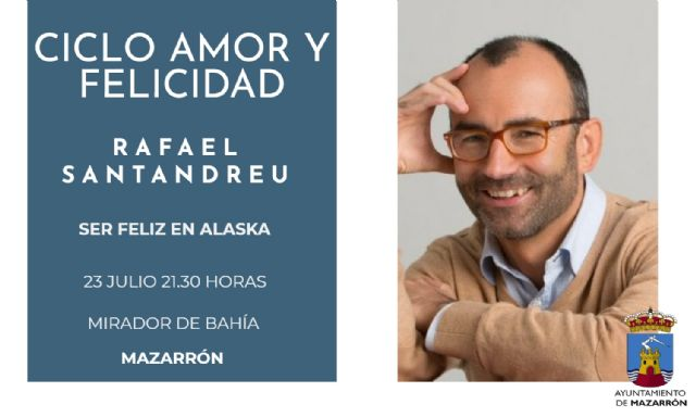 Rafael Santandreu cierra el ciclo Amor y felicidad con lleno total, Foto 1