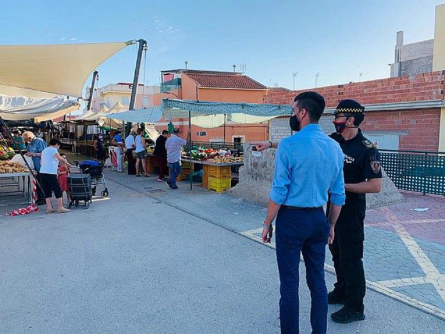El concejal de Comercio prepara nuevas medidas de prevención para los mercados al aire libre - 1, Foto 1