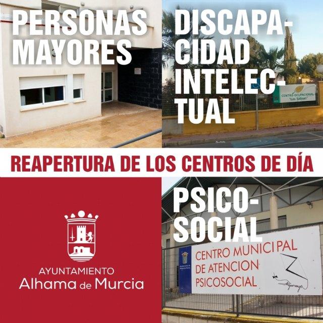 Reabren los centros de día del municipio - 1, Foto 1