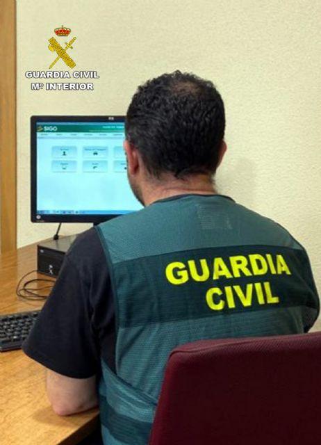 La Guardia Civil detiene en Murcia a una persona dedicada a cometer robos - 2, Foto 2