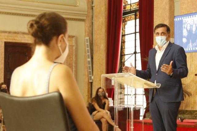 El Alcalde despide a los participantes en el programa de Intercambios Juveniles - 1, Foto 1