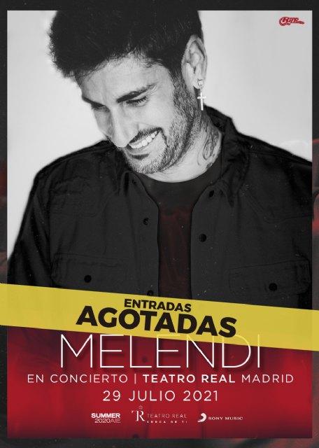 Melendi agota su concierto en el Teatro Real de Madrid - 1, Foto 1