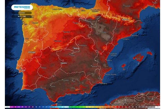 Alerta por temperaturas elevadas: fin de semana con valores por encima de los 40 ºC - 1, Foto 1