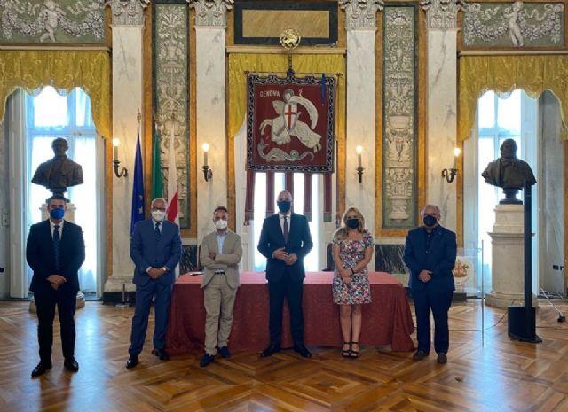 Murcia y Génova avanzan en su agenda de trabajo para el desarrollo de programas de promoción cultural - 1, Foto 1