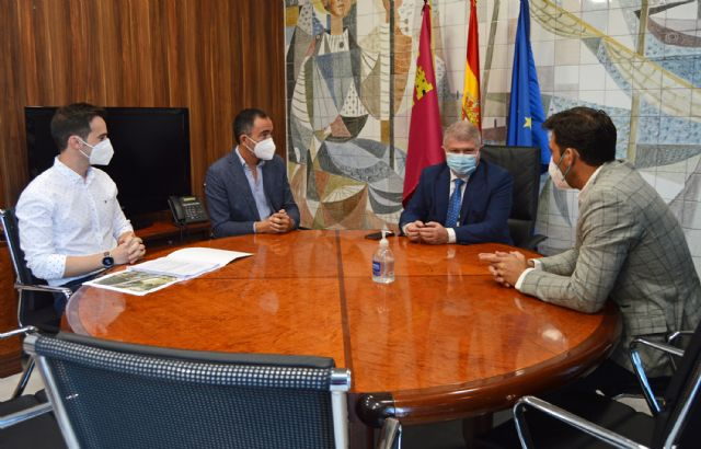 El Ayuntamiento de Las Torres de Cotillas recibe el apoyo del delegado del Gobierno a su proyecto de diseño del trazado de la N-344 - 1, Foto 1