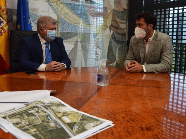 El Ayuntamiento de Las Torres de Cotillas recibe el apoyo del delegado del Gobierno a su proyecto de diseño del trazado de la N-344 - 2, Foto 2