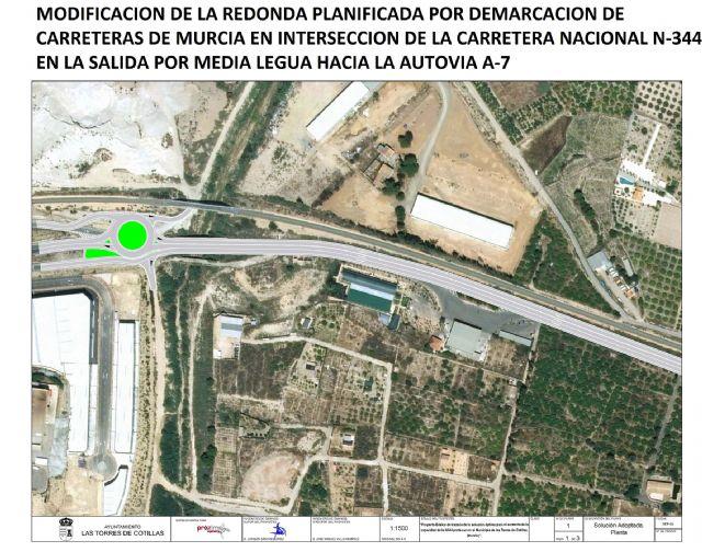 El Ayuntamiento de Las Torres de Cotillas recibe el apoyo del delegado del Gobierno a su proyecto de diseño del trazado de la N-344 - 3, Foto 3
