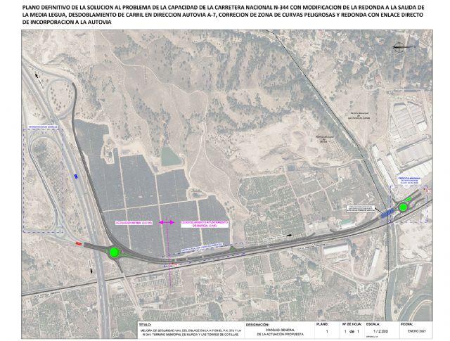 El Ayuntamiento de Las Torres de Cotillas recibe el apoyo del delegado del Gobierno a su proyecto de diseño del trazado de la N-344 - 4, Foto 4