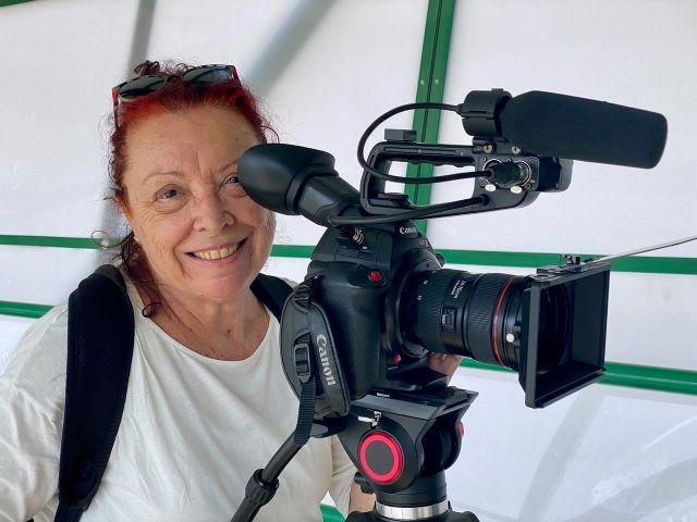 Mercedes Imbernón rueda en Murcia el cortometraje El andén de Rubén - 1, Foto 1