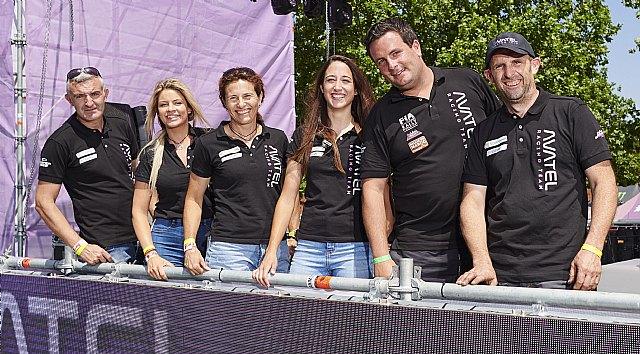 Avatel acude a la Baja Aragón con cinco coches e importante presencia femenina - 1, Foto 1