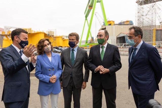 Iberdrola, Navantia y Windar sellan su alianza hasta 2025 para el desarrollo de la eólica marina - 1, Foto 1