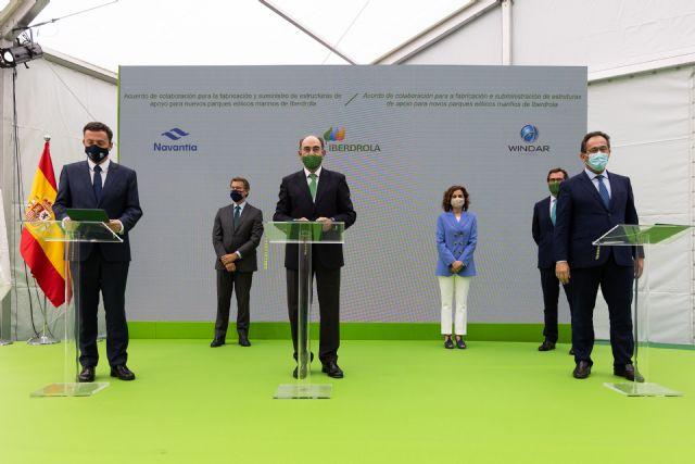 Iberdrola, Navantia y Windar sellan su alianza hasta 2025 para el desarrollo de la eólica marina - 3, Foto 3