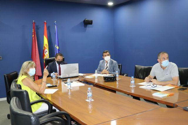 Reunión del consejero de Transparencia, Participación y Administración Pública con los responsables del Plan Copla de los municipios del litoral - 2, Foto 2