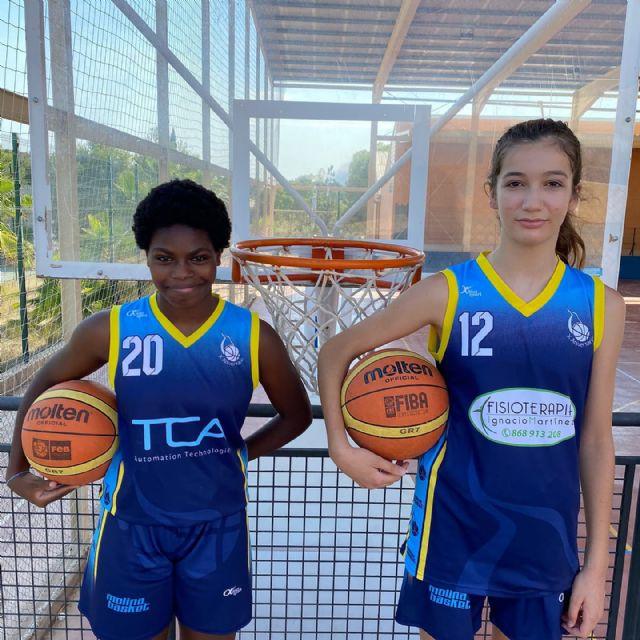 Raquel Arnaldos y Natalia López, de Molina Basket, convocadas con la Selección Española - 1, Foto 1