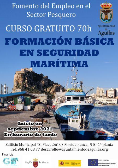 Abierto el periodo de inscripción para dos nuevos cursos gratuitos de Marinero Pescador y Formación Básica en Seguridad Marítima - 1, Foto 1
