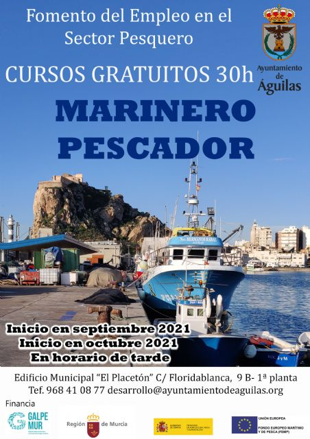Abierto el periodo de inscripción para dos nuevos cursos gratuitos de Marinero Pescador y Formación Básica en Seguridad Marítima - 2, Foto 2