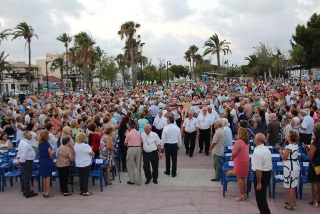 Multitudinaria misa en honor al Cristo del Mar Menor en Lo Pagán - 1, Foto 1