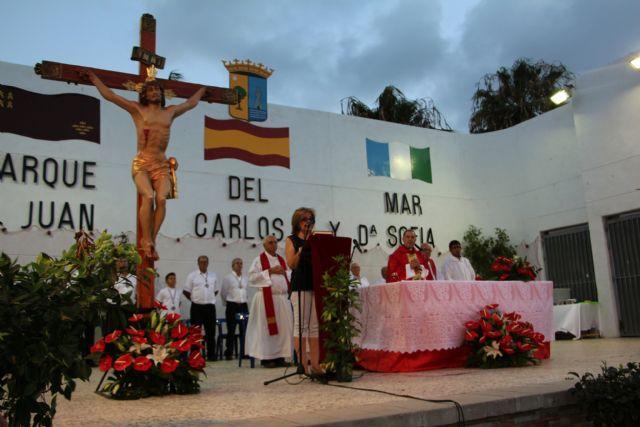 Multitudinaria misa en honor al Cristo del Mar Menor en Lo Pagán - 2, Foto 2