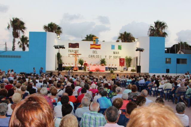 Multitudinaria misa en honor al Cristo del Mar Menor en Lo Pagán - 3, Foto 3