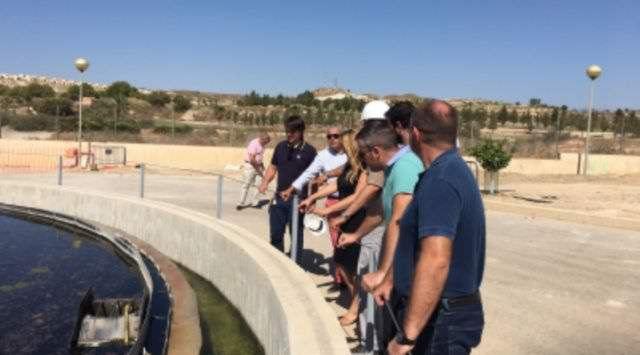 Agricultura invierte 775.000 euros en mejorar la depuradora de Camposol en Mazarrón, Foto 1