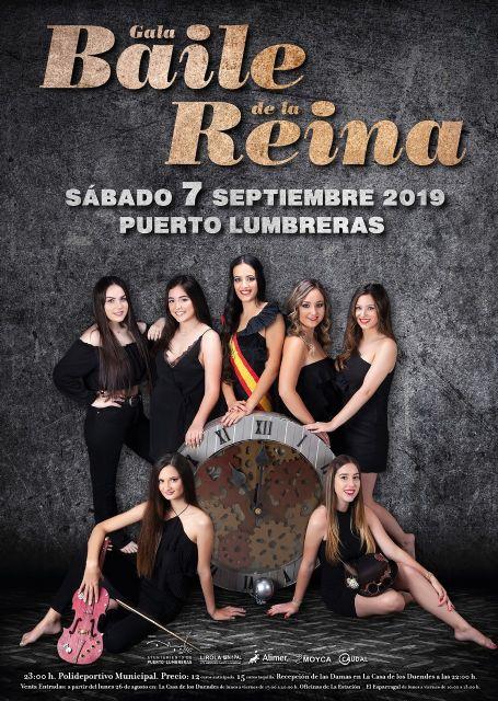 Las entradas para el Baile de la Reina de Puerto Lumbreras, a la venta a partir del próximo lunes 26 de agosto - 1, Foto 1