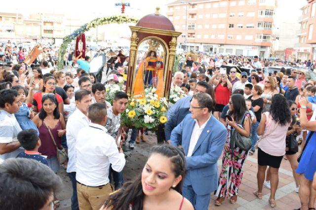 La comunidad ecuatoriana se congrega en torno a la Virgen del Cisne - 1, Foto 1