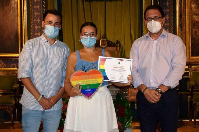 Entregados los premios del concurso de fotografía 'Mazarrón por la igualdad' en contra de la homofobia y la violencia de género, Foto 2