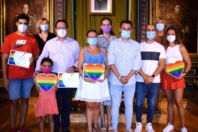 Entregados los premios del concurso de fotografía 'Mazarrón por la igualdad' en contra de la homofobia y la violencia de género, Foto 4
