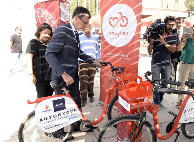 Unos 15.000 universitarios se beneficiarán del sistema de bicicletas públicas que el Ayuntamiento lleva al Campus de Espinardo - 1, Foto 1