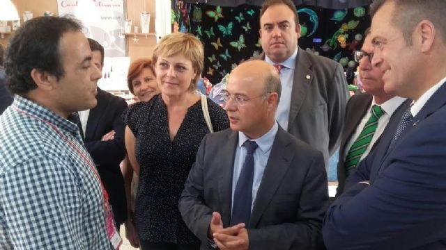 Councilwoman Crafts attends the opening ceremony of the 33rd edition of the Craft Fair of the Region of Murcia (FERAMUR)