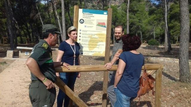 La Comunidad remodela y mejora todas las zonas de acampada y recreativas del Parque Regional de Sierra Espuña, Foto 1