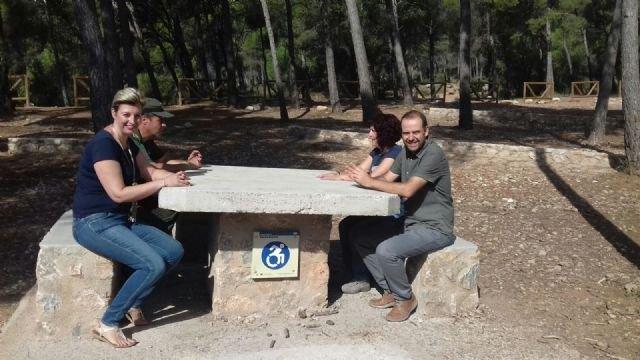 La Comunidad remodela y mejora todas las zonas de acampada y recreativas del Parque Regional de Sierra Espuña, Foto 2